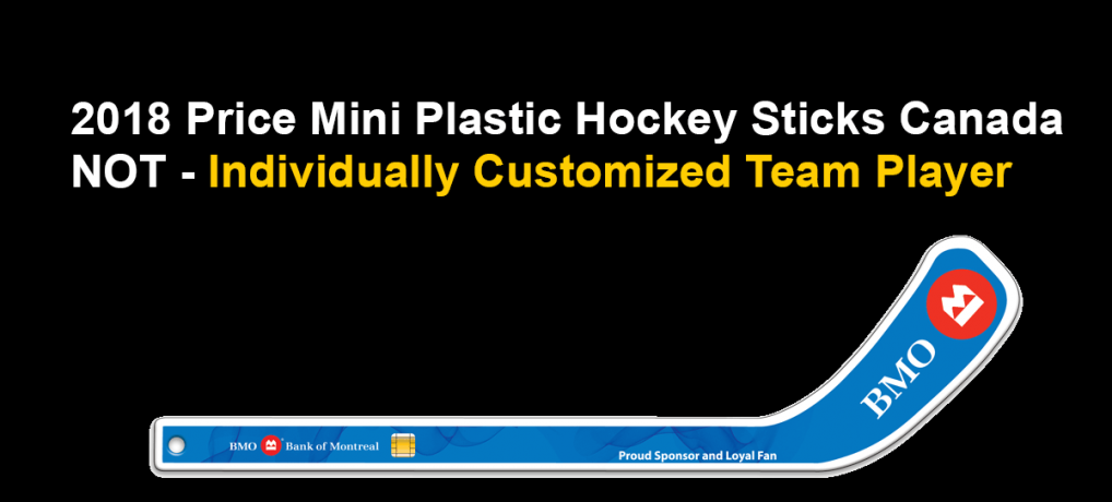 2018 Price Mini Plastic Hockey Sticks Canada