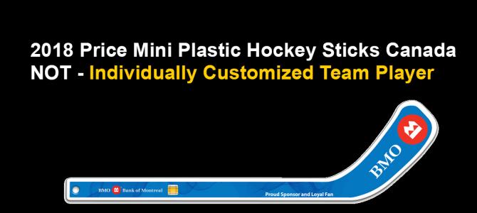 2018 Price Mini Plastic Hockey Sticks Canada