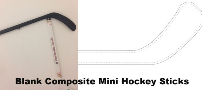 Blank Composite Mini Hockey Sticks