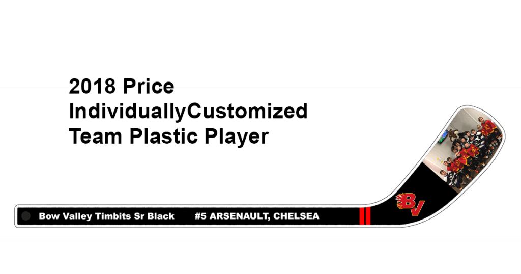 2018 Price Individually Customized Team Plastic Player